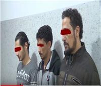فيديو  سقوط تشكيل عصابي تخصص في سرقات السيارات بكرداسة
