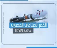 إنفوجراف| ما لا تعرفه عن القمر الصناعي المصري «Egypt sat-A»