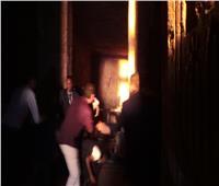 صور| الشمس تتعامد على وجه رمسيس الثاني بقاعة قدس الأقداس في أبو سمبل