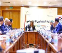 وزيرة التضامن تستقبل الرئيس التنفيذي لـ«المصرية للاتصالات»