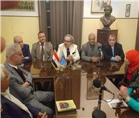 صور| رئيس كتاب مصر يوقع برتوكولًا ثقافيًا مع كتاب فلسطين