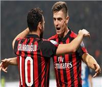 شاهد  ميلان يفوز بثلاثية نظيفة على إمبولي في الدوري الإيطالي