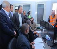 وزير النقل: برج إشارات مغاغة يتيح مراقبة التشغيل والأعطال