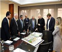 وزير الإسكان يتابع تنفيذ مشروع الحدائق المركزية بالعاصمة الإدارية الجديدة