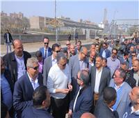 وزير النقل يتفقد تطوير محطة سمالوط بخط القاهرة/ السد العالي