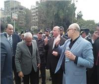 صور| محافظ القاهرة يتابع إزالة منطقة أكشاك أبو السعود