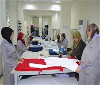 إنشاء مشغل لتدريب الفتيات بالمجان على أعمال الحياكة بالشرقية
