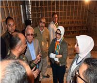 وزيرة الصحة تبدأ جولتها في بورسعيد بتفقد الأعمال الإنشائية بمستشفى بورفؤاد