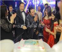 صور| فؤاد وشارموفرز يحتفلان بعيد ميلاد «هانيا»