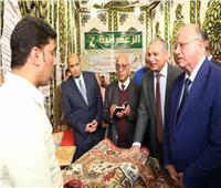 محافظ القاهرة يفتتح معرض مبدعي الأسمرات