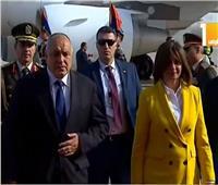 نبيلة مكرم تستقبلرئيس وزراء بلغاريا على هامش فعاليات القمة العربية الأوروبية