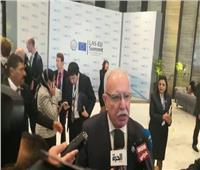 وزير خارجية فلسطين يكشف تفاصيل لقاء الرئيس السيسي بأبو مازن