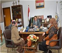 المرأة في الصعيد.. محور لقاء نائب رئيس جامعة أسيوط مع أعضاء «قومي المرأة»