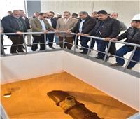 محافظ أسيوط يتفقد مشروعات الصرف الصحي بأبنوب والفتح