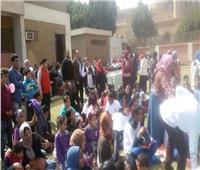 الري تشارك في حملة عطاء لذوي الاحتياجات الخاصة
