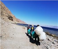 «البيئة» تنظم حملة نظافة بمحمية «أبو جالوم»