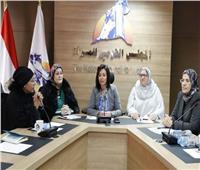 «مايا مرسي» تشارك في اجتماع لجنة أسر الشهداء