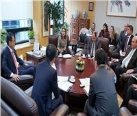 مباحثات مصرية كورية لجذب استثمارات لمنطقة قناة السويس