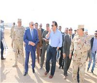 «فودة» و«عبد الغفار» يتفقدا أعمال إنشاءات جامعة الملك سلمان بشرم الشيخ