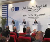 دونالد توسك: أشكر الرئيس السيسي على سعيه لنجاح القمة العربية الأوروبية