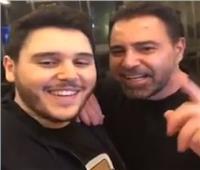 فيديو| عاصي الحلاني يشدو بأغنية جديدة لنجله.. وابنه يمازحه على «انستجرام»