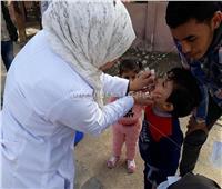 تطعيم 33 ألف و700 طفل ضد شلل الأطفال بشمال سيناء