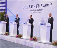 السيسي يترأس الجلسة الختامية من القمة العربية الأوروبية