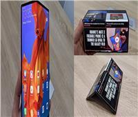 فيديو وصور | سعره 46 ألف جنيه.. تعرف على مواصفات هاتف هواوي الجديد «القابل للطي»