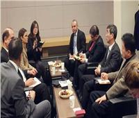 «سحر نصر» تبحث مع شركات كورية الاستثمار في صناعة مكونات السيارات