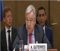 «غوتيريش» يحذر من خطورة الأوضاع الإنسانية في اليمن