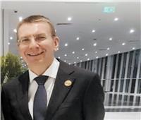 حوار| وزير خارجية لاتفيا: الرئاسة المصرية للاتحاد الأفريقي فرصة مهمة للتعاون والشراكة