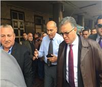 حريق محطة مصر| وزير النقل يصل لتفقد الحادث