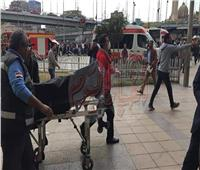 حريق محطة مصر|«مستشفى الهلال» تستقبل 6 متوفين و12 مصابا