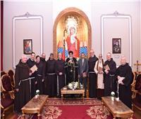 البابا تواضروس يستقبل وفدا من الرهبان الفرنسيسكان بالقدس