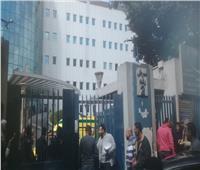 حريق محطة مصر| مستشفي السكك الحديد تستقبل 11 مصابا