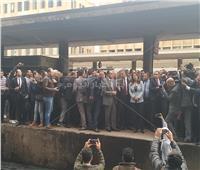 حريق محطة مصر| وزيرة التضامن من مقر الحادث: تعويضات للضحايا