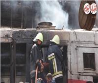 حريق محطة مصر| فيديو.. اللقطات الأولى لحريق الجرار