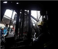 حريق محطة مصر| مشاهد بين «أطلال» رصيف نمرة 6