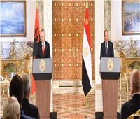 الرئيس السيسي: الاتفاق على الانتهاء من تشكيل مجلس الأعمال المشترك