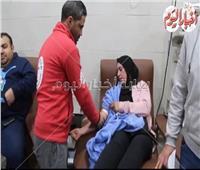 صور وفيديو |حريق محطة مصر.. مصريون ينقذون مصابي «جحيم القطار»
