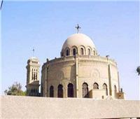 إخماد حريق مبنى تابع لكنيسة القديسة دميانة بالهرم