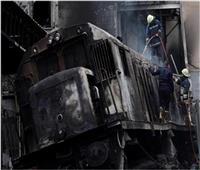 شاهد| فيديو جديد من حريق محطة مصر