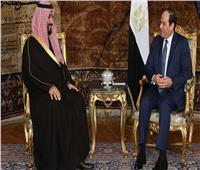 ولي العهد السعودي يعزي الرئيس السيسي في ضحايا حريق محطة مصر