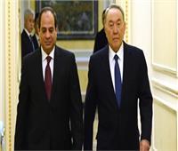 رئيس كازاخستان يبعث برقية عزاء للرئيس السيسي في ضحايا محطة مصر