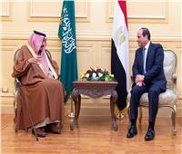 الملك سلمان يوجه رسالة للرئيس السيسي بعد حادث حريق محطة مصر