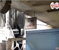 في اليوم الثاني للحريق.. حطام جرار محطة مصر «محلك سر»
