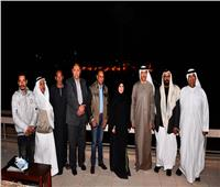 «الصوت والضوء» تستقبل رئيسة البرلمان الإماراتي