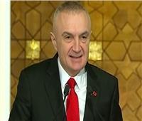 رئيس ألبانيا يزور جامعة الدول العربية ويلتقى أبو الغيط