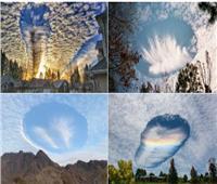 «السحب المثقوبة».. ظاهرة غريبة تظهر في سماء السعودية