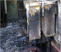 السيطرة على حريق كابل كهرباء في الدقي
